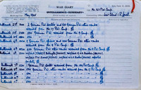 PoW Camp 163 Butterwick War Diary